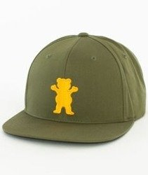 Grizzly-OG Bear Snapback Olive
