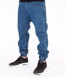 Mass-Base Denim Jogger Pants Spodnie Light Blue