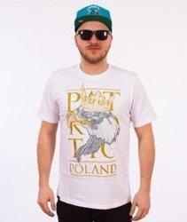 Patriotic-Poland Eagle T-shirt Biały
