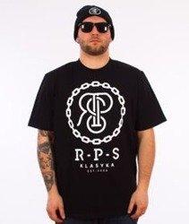 RPS KLASYKA-Chain T-Shirt Czarny