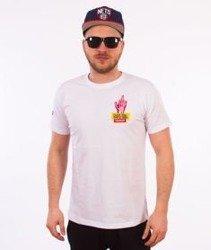 Stoprocent-Skelet T-Shirt Biały