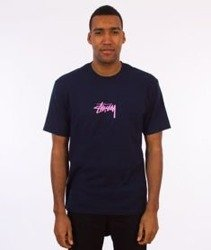 Stussy-Stock T-Shirt Navy