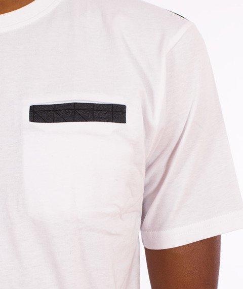 Alkopoligamia-ΔLKO' Pattern T-Shirt Biały