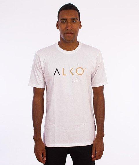 Alkopoligamia-ΔLKO' T-Shirt Biały