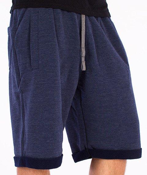 Alkopoligamia-Zdrowie Spodnie Krótkie Granatowe