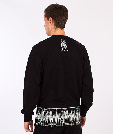Backyard Cartel-Graph Crewneck Black