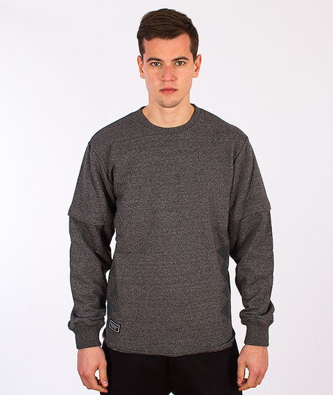 Backyard Cartel-Raptor Crewneck Grey
