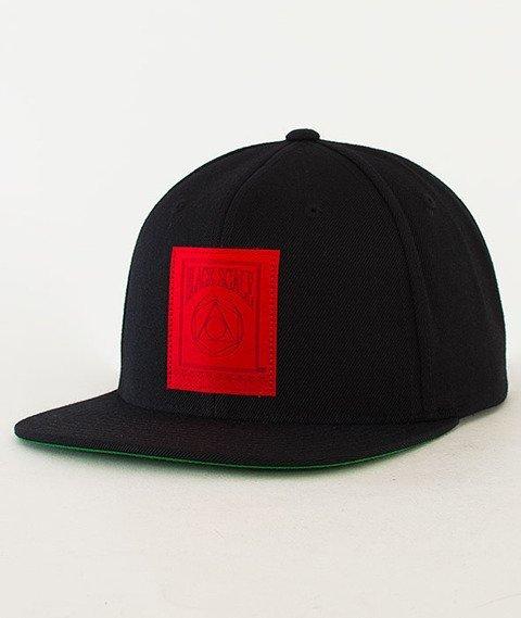 Black Scale-5 Percent Snapback Black