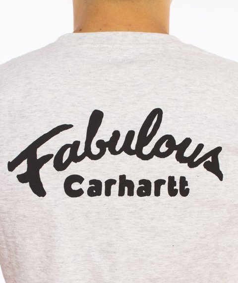Carhartt-Fabulous T-Shirt Ash Heather Grey