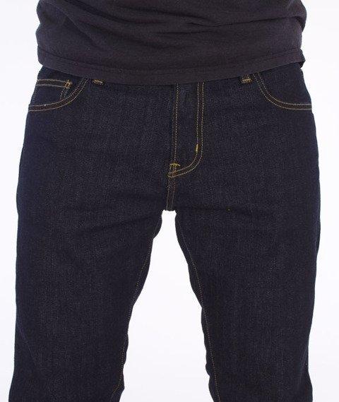 Carhartt-Rebel Pant Spodnie Spicer Blue Stretch Denim Rinsed