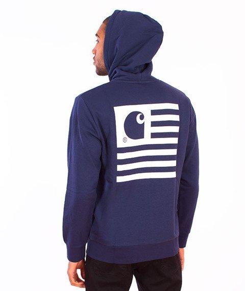 Carhartt-State Flag Hooded Blue/White