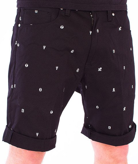 Carhartt-Swell Short Drop Cap Print Black/White Rigid