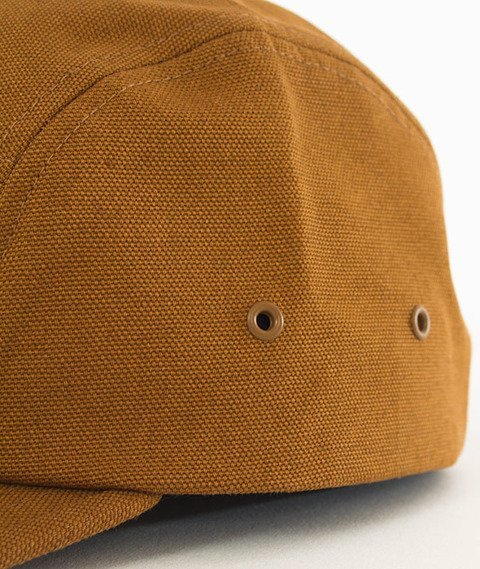 Carhartt WIP-Backley Canvas 5-Panel Cap Hamilton Brown