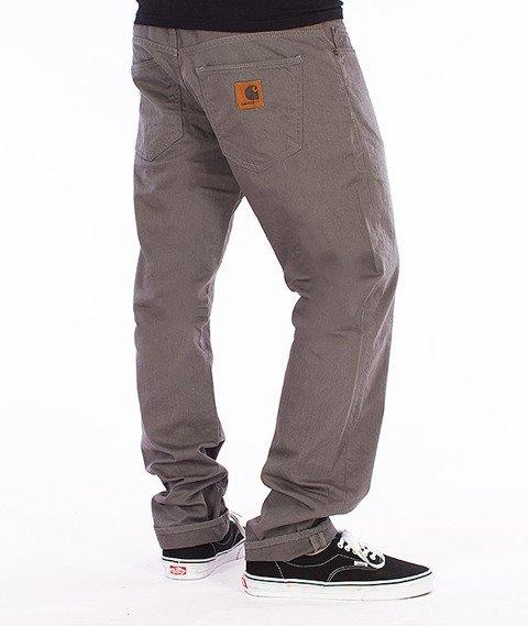 Carhartt WIP-Buccaneer Pants Spodnie Tin Rinsed