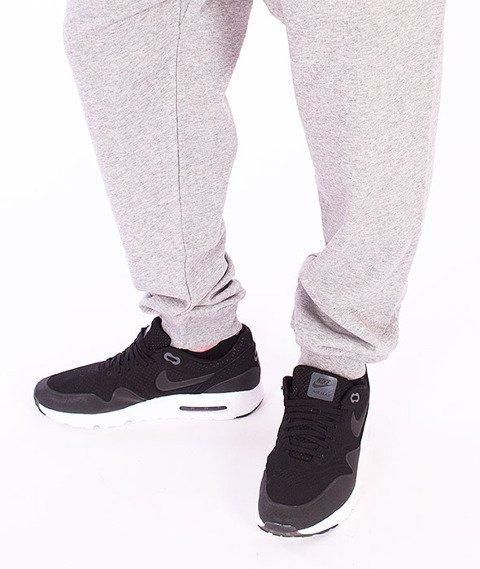 Carhartt WIP-College Sweat Pants Grey Heather/Cordovan