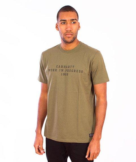 Carhartt WIP-Imprint T-Shirt Bog/Black