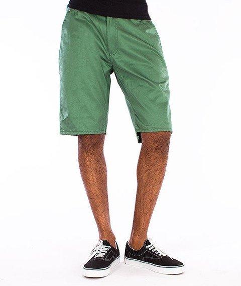 Carhartt WIP-Lincoln Simple Krótkie Spodnie Absinthe Rigid