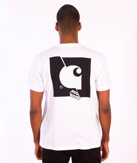 Carhartt WIP-Razor Blade T-Shirt White/Multicolor