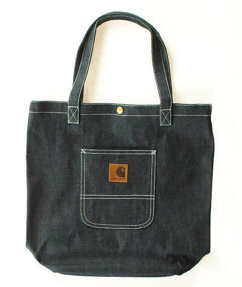 Carhartt WIP-Simple Tote Bag Denim Blue Rigid