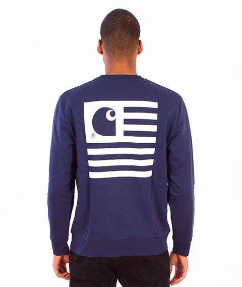 Carhartt WIP-State Flag Sweat Blue/White