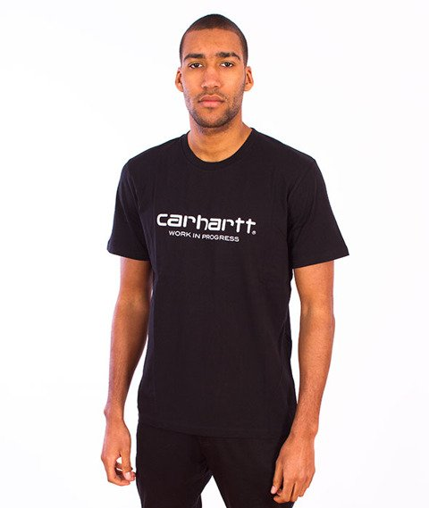 Carhartt WIP-WIP Script T-Shirt  Black/White