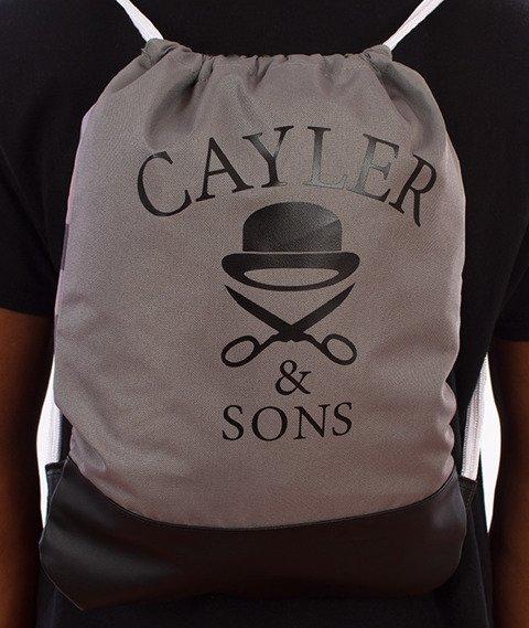 Cayler & Sons-Bigasso Gym Bag Forest Grey/Camo/Black