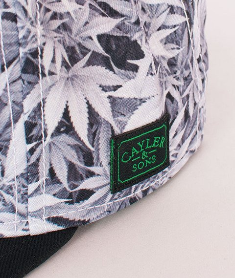 Cayler & Sons-EveryDay Cap White Kush/Black/Green