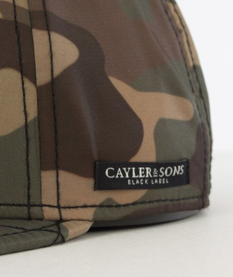 Cayler & Sons-Flight Cap Czapka Woodland/Black/Orange