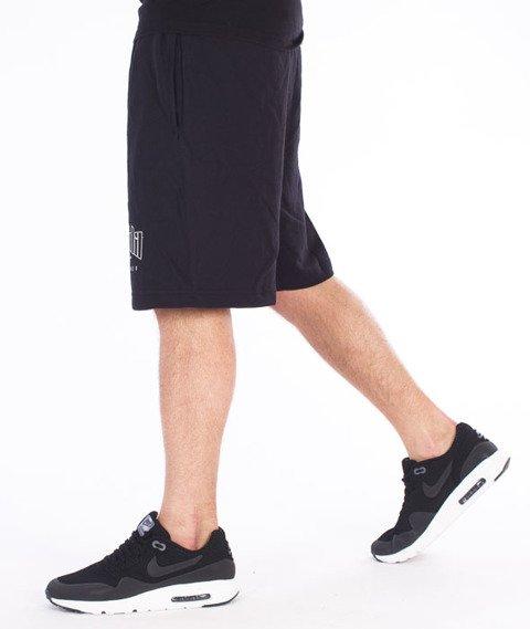 Chada-Proceder 14 Spodnie Krótkie Dresowe Czarne