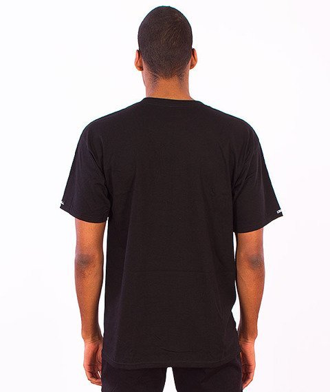 Crooks & Castles-Tiger Speckle Logo T-Shirt Black
