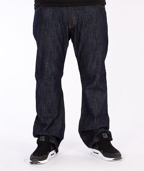 Czill-Spodnie Jeansowe Dark Blue