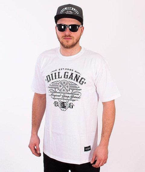 DIIL-Baseball T-shirt Biały