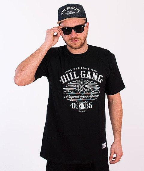 DIIL-Baseball T-shirt Czarny