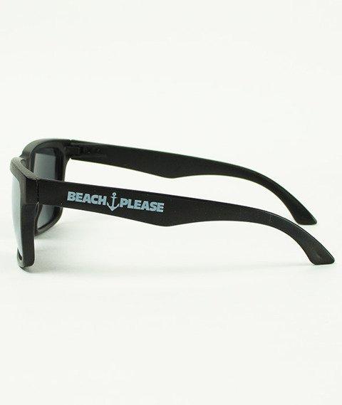 Diamante-Beach Please Okulary Czarne