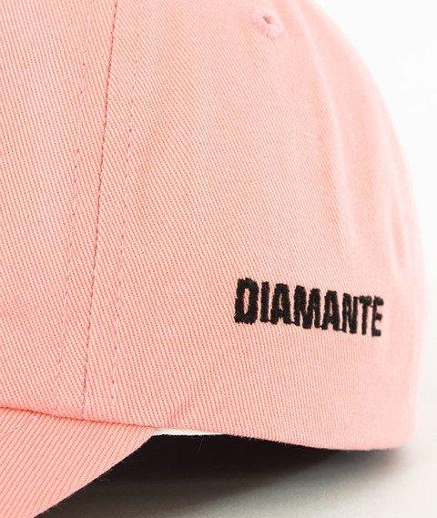 Diamante-Don't Even Fuckin' Try Czapka Snapback Różowa