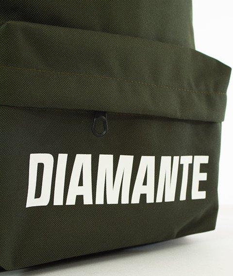 Diamante-LOGO 2 Plecak Oliwkowy