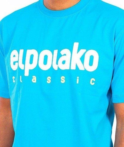 El Polako-Classic T-Shirt Niebieski