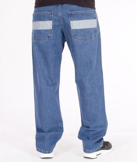 El Polako-Flag Regular Jeans Light Blue