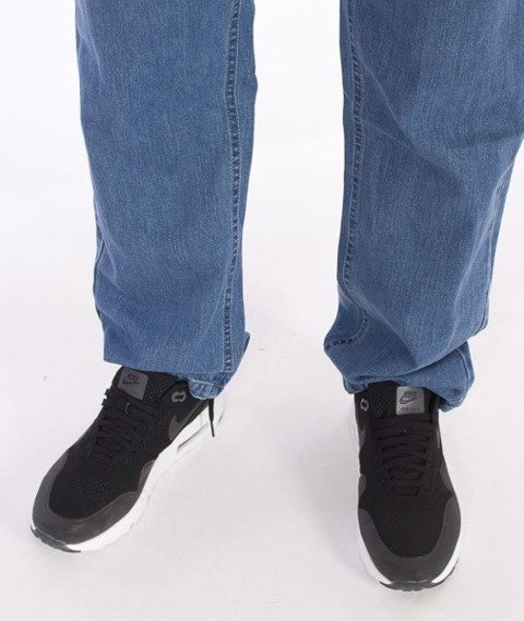 El Polako-Flag Slim Spodnie Jeans Light Blue