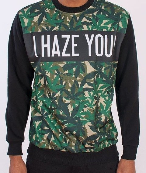 El Polako-Haze Bluza Czarna/Multikolor