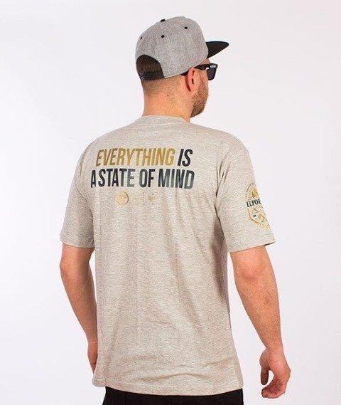 El Polako-Mind T-Shirt Szary