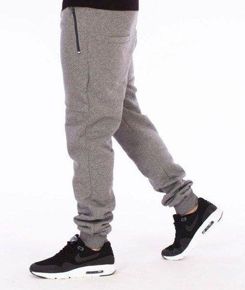 El Polako-Old Classic Fit Spodnie Dresowe Grafitowe
