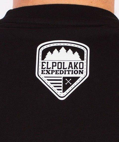 El Polako-Wild Eyes Tiger T-Shirt Czarny