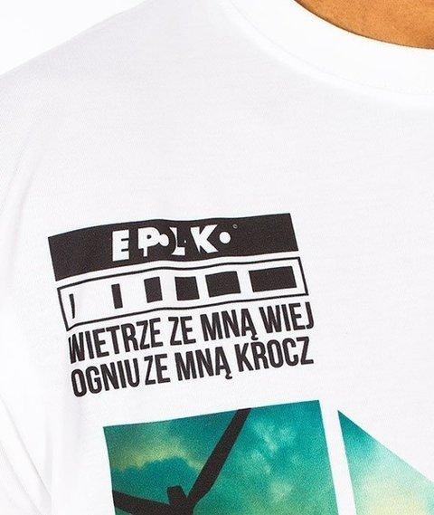 El Polako-Żywioły T-Shirt Biały/Multikolor