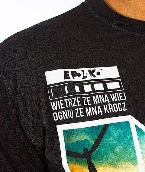 El Polako-Żywioły T-Shirt Czarny/Multikolor