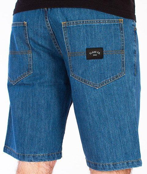Elade-Icon Spodnie Krótkie Jeans Light Blue