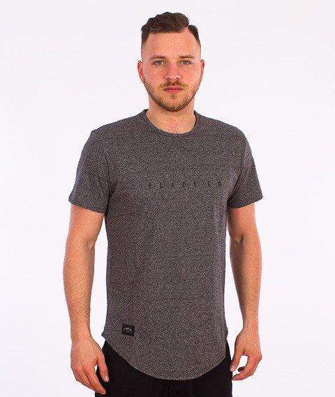 Elade-Minimal Scallop T-Shirt Grafitowy