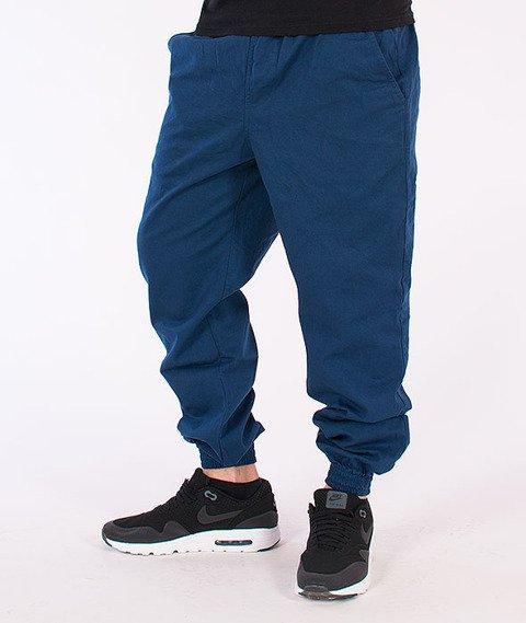 Equalizer-Jogger Spodnie Materiałowe Niebieskie