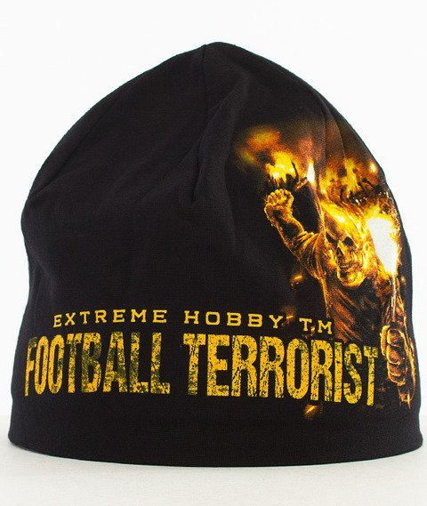 Extreme Hobby-Football Terrorist Cap Czapka Zimowa Czarna