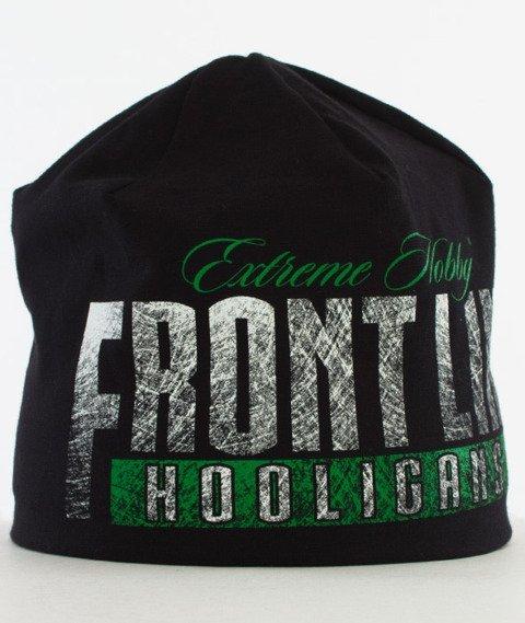 Extreme Hobby-Frontline Wind Cap Czapka Zimowa Czarna/Zielona